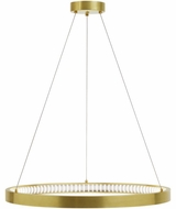 Tech 700BOD30R-LED930 Bodiam Modern Aged Brass LED 30  Pendant Lamp