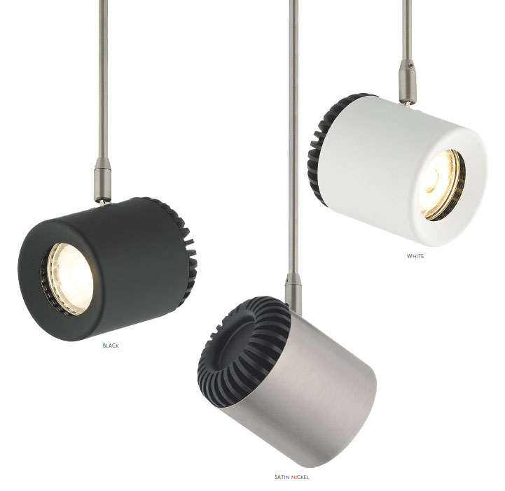 Tech 700brk Burk Head Contemporary Led Track Lighting