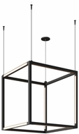 Tech 700BRXCL93024B Brox Contemporary Nightshade Black LED 24  Pendant Light