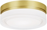 Tech 700CQSR Cirque Modern Aged Brass LED Interior / Exterior Ceiling Lighting Fixture