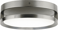 Tech 700FMFINFRS-LED830 Finch Contemporary Satin Nickel LED Ceiling Lighting Fixture