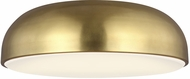 Tech 700FMKOSA13R-LED930 Kosa Contemporary Aged Brass LED Flush Mount Light Fixture