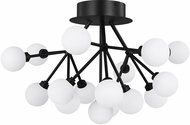 Tech 700FMMRAB-LED927 Mara Contemporary Matte Black LED Flush Ceiling Light Fixture