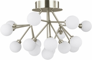 Tech 700FMMRAS-LED927 Mara Contemporary Satin Nickel LED Home Ceiling Lighting