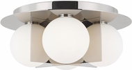 Tech 700FMOBLN Orbel Contemporary Polished Nickel LED Overhead Lighting Fixture