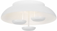 Tech 700FMPLR18W-LED930 Plura Contemporary White LED Ceiling Light Fixture