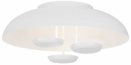 Tech 700FMPLR24W-LED930 Plura Modern White LED Flush Lighting