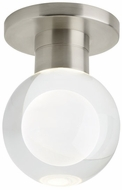 Tech 700FMSPRMCS-LED930 Sopra Contemporary Satin Nickel LED Overhead Lighting Fixture