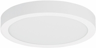 Tech 700FMTNRR12W-LED930 Tenur Contemporary Matte White LED 12  Flush Mount Light Fixture