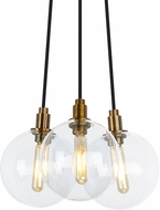 Tech 700GMBMP3 Gambit Contemporary LED Multi Pendant Light
