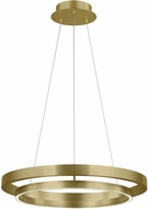 Tech 700GRC30R-LED930 Grace Contemporary Aged Brass LED 30  Hanging Pendant Light
