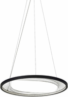 Tech 700INT30B-LED827 Interlace Contemporary Black LED 30  Hanging Pendant Lighting