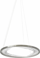 Tech 700INT30S-LED827 Interlace Modern Satin Nickel LED 30  Hanging Pendant Light