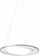 Tech 700INT45S-LED827 Interlace Modern Satin Nickel LED 45  Hanging Light Fixture