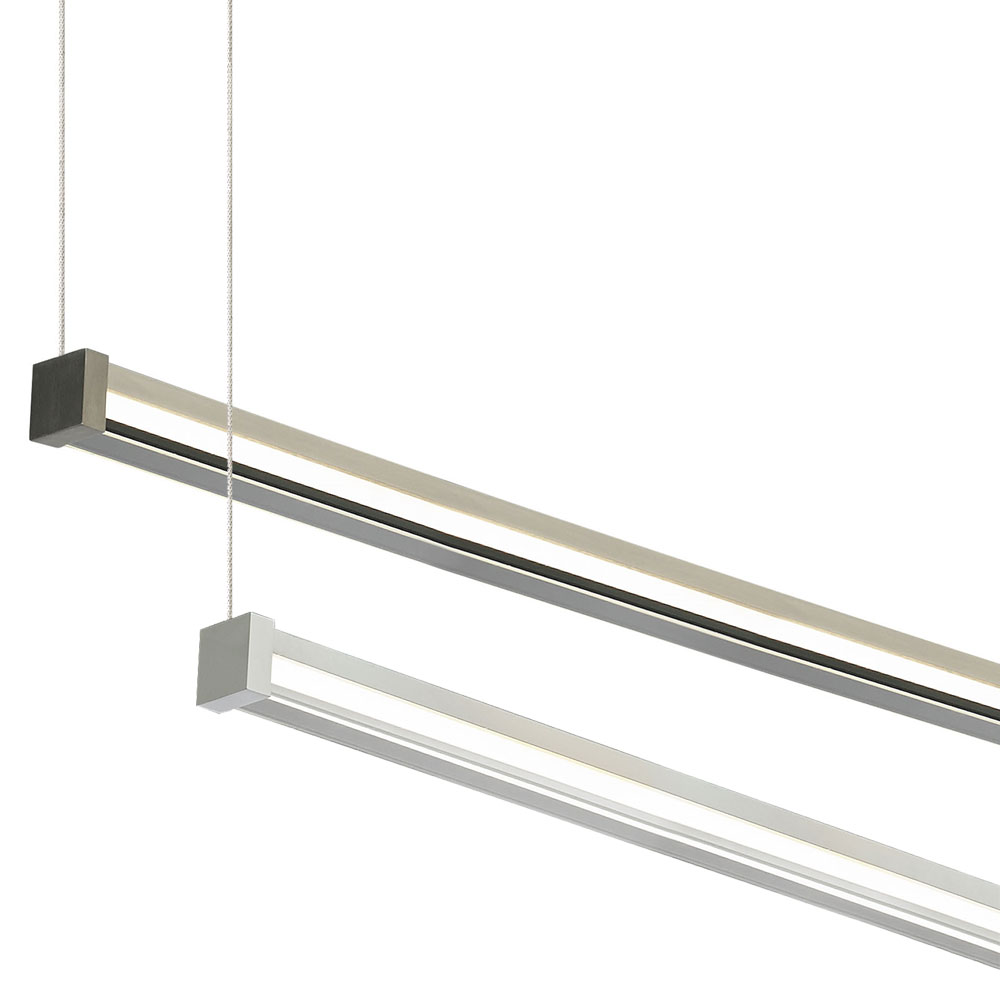 Tech 700lsgiar gia modern led linear suspension island lighting loading zoom