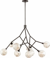 Tech 700MLNAPBZ Malena Contemporary Antique Bronze Chandelier Light