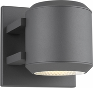 Tech 700OWAST5H-LED930 Aspenti Modern Charcoal LED Outdoor 5  Wall Lighting Sconce