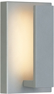 Tech 700OWNTE9I-LED930 Nate Modern Silver LED Outdoor 9  Lighting Sconce