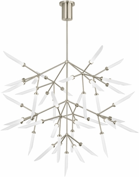 Tech 700SPRGFS-LED927 Spur Grande Modern Satin Nickel LED Lighting Chandelier