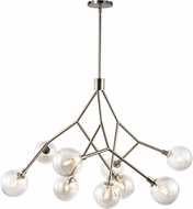 Tech 700SYCKS Sycamore Modern Satin Nickel Chandelier Light