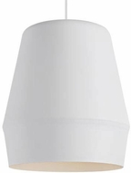 Tech 700TDALEW Allea Contemporary Matte White Ceiling Light Pendant