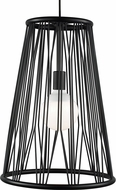 Tech 700TDDMTB Diamant Modern Matte Black Pendant Light
