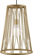 Tech 700TDDMTG Diamant Contemporary Satin Gold Lighting Pendant