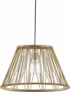 Tech 700TDDMTGG Diamant Grande Contemporary Satin Gold Hanging Lamp