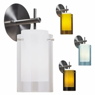 Tech 700TDECS 2 Thousand Degrees Echo Modern Wall Sconce, Line Voltage