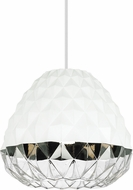 Tech 700TDFCTBS Facette Grande Modern Black/Smoke Hanging Light
