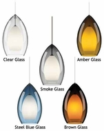 Tech 700TDFIRGP 2 Thousand Degrees Fire Grande Contemporary Mini Pendant Light