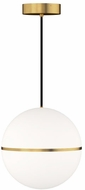 Tech 700TDHNE13NB-LED930 Hanea Grande Contemporary Natural Brass LED Ceiling Light Pendant