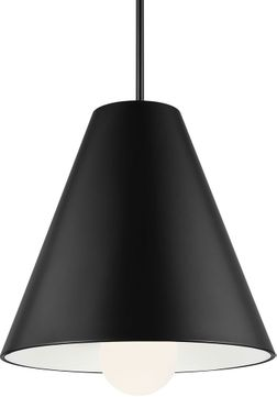 Tech 700TDJNIB-LED930 Joni Contemporary Matte Black LED Ceiling Light Pendant