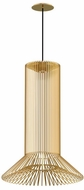 Tech 700TDKAI3NB-LED930 Kai Modern Natural Brass LED Foyer Light Fixture