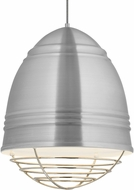 Tech 700TDLOFGPAWN Loft Grande Modern Brushed Aluminum w/ White Interior Hanging Light