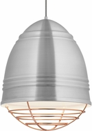 Tech 700TDLOFGPAWP Loft Grande Contemporary Brushed Aluminum w/ White Interior Pendant Light Fixture