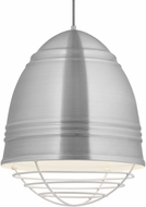 Tech 700TDLOFGPAWW Loft Grande Modern Brushed Aluminum w/ White Interior Pendant Lighting Fixture