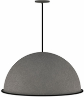 Tech 700TDMUDYB Mudo Contemporary Nightshade Black LED Ceiling Pendant Light