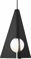 Tech 700TDOBLPB Orbel Modern Matte Black LED Mini Drop Lighting Fixture