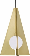 Tech 700TDOBLPR Orbel Modern Aged Brass LED Mini Pendant Light