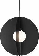 Tech 700TDOBLRB Orbel Contemporary Matte Black LED Lighting Pendant