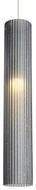 Tech 700TDRMBGPKS-LED930 Rombo Contemporary Satin Nickel LED Line Voltage Mini Pendant Lighting
