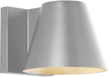 Tech 700WSBOW4I-LED830 Bowman Modern Silver LED Outdoor Lighting Wall Sconce
