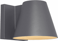Tech 700WSBOW6H-LED830 Bowman Contemporary Charcoal LED Outdoor Wall Light Sconce