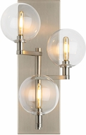 Tech 700WSGMBTCS Gambit Contemporary Satin Nickel LED Wall Light Sconce