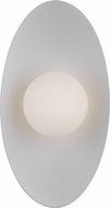 Tech 700WSJNI13BW-LED930 Joni Contemporary Matte Black / Matte White LED 13  Wall Sconce Lighting