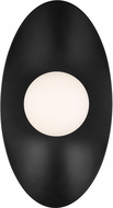 Tech 700WSJNI16BB-LED930 Joni Contemporary Matte Black LED 16  Wall Light Sconce