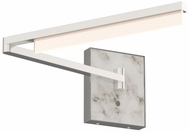 Tech 700WSKLEN-LED930 Klee Modern Polished Nickel LED Wall Swing Arm Lamp