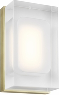 Tech 700WSMLY7R-LED930 Milley Modern Aged Brass LED Wall Sconce Lighting