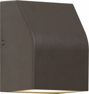 Tech 700WSNTRNZ-LEDWD Neutrino Contemporary Bronze LED Outdoor Lamp Sconce